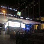 Madison Square Garden in New York City USA