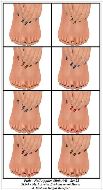 Flair/SLink Hands & Feet Polished