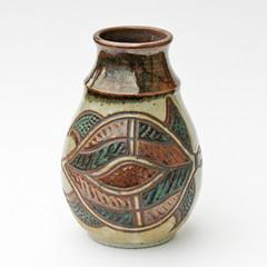 Yarrabah Pottery. Vase
