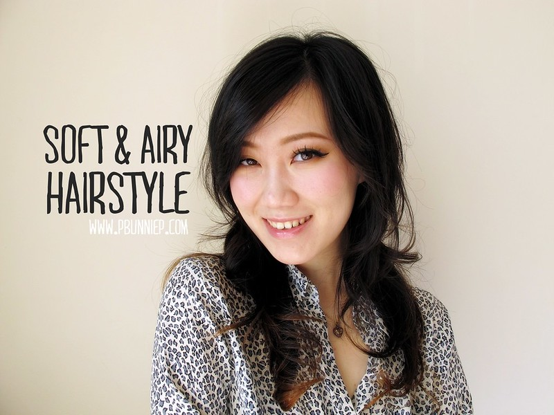 Soft Airy Japanese Inspired Hairstyle -01