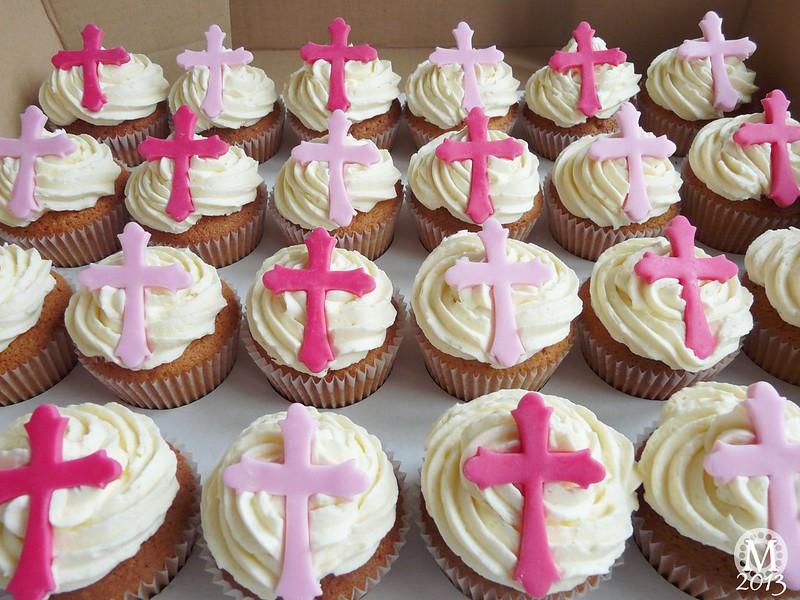 Baptism/Christening Cupcakes