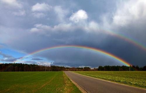 Grüße aus dem Regenbogenland...