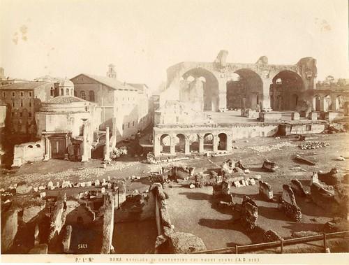 ROMA ARCHEOLOGIA e BENI CULTURALI: IL FORO ROMANO, NUOVI SCAVI (ca. 1888-1903), in: IUPPITER STATOR IN PALATINO RITROVATO (2012-13). by Martin G. Conde