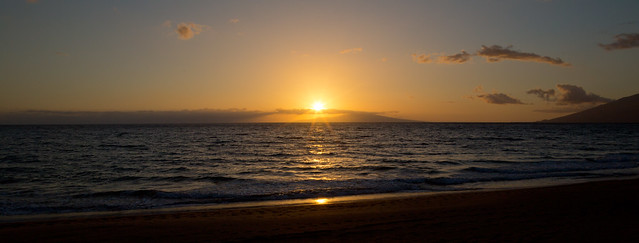 Mokapu Beach Sunset Hawaii