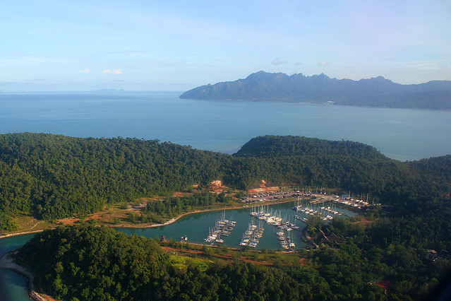 View from the air - Langkawi