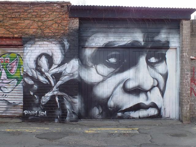 Graffiti Cathays, Cardiff