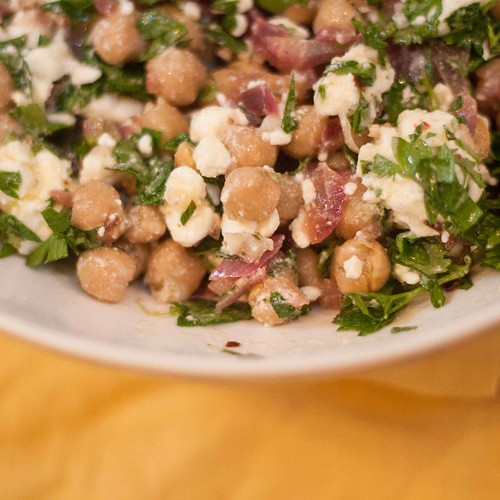 Chickpea Feta and Cilantro Salad (3 of 3)