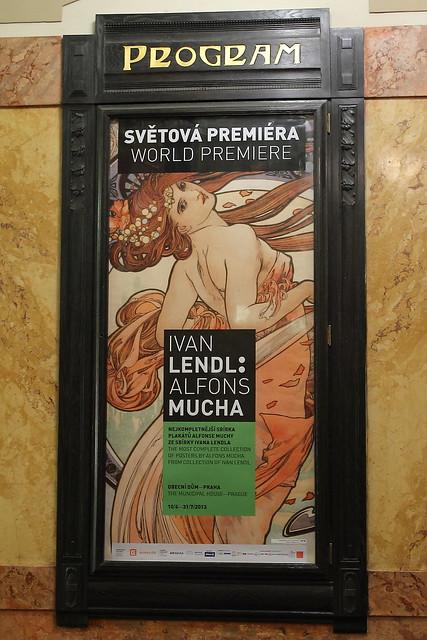 World Premiere: Lendl / Mucha exhibition