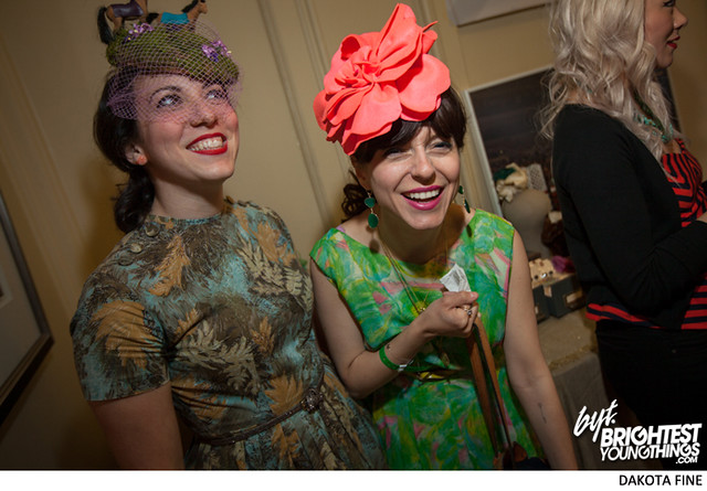BYT Prancin party with mint julips at the Hill Center in Washington DC for the Kentucky Derby day, May 4th, 2013.