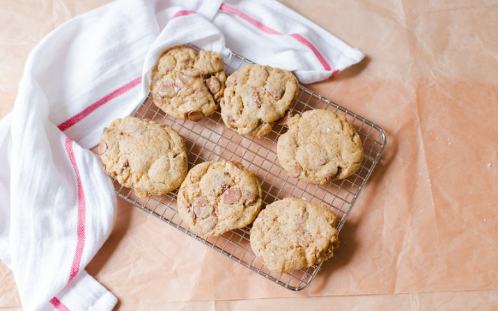 Salty Chocolate Chip Cookies