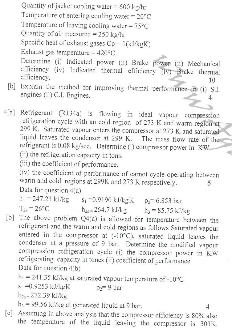 DTU Question Papers 2010 – 4 Semester - End Sem - PT-215