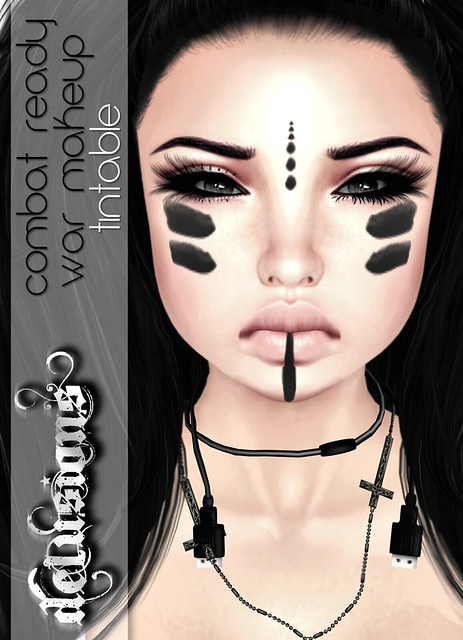 .:: Delusions ::. Combat Ready War Makeup