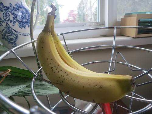 Banana nutella layer cake