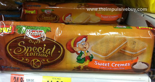 Keebler Special Edition Sweet Cremes