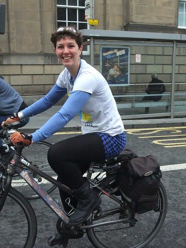 Tracy at Pedal on Parliament 2