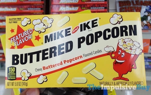 Mike and Ike Buttered Popcorn