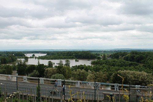 Flooded plain at the Confluence between the Labe and Vltava, Mělník, June 4th 2013