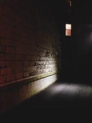 Spotlight in Alley