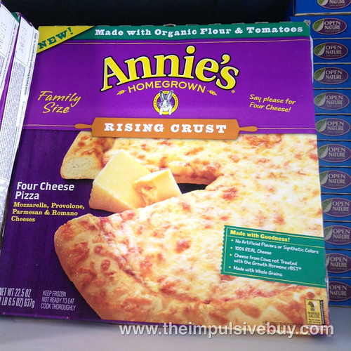 Annie's Homegrown Rising Crust Four Cheese Pizza