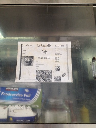 La Baguette Window Menu