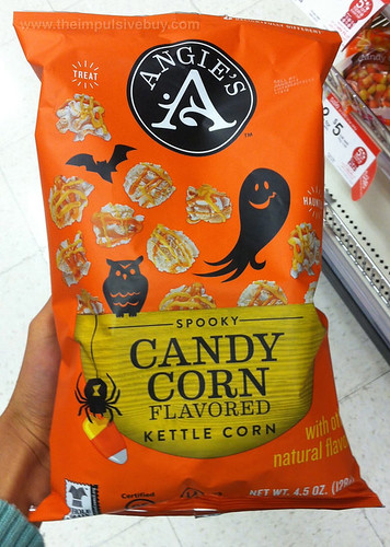 Angie's Spooky Candy Corn Kettle Corn