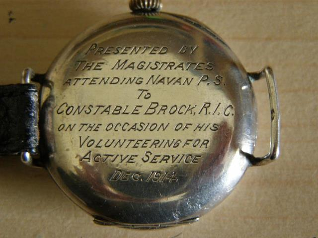 Constable Brock watch