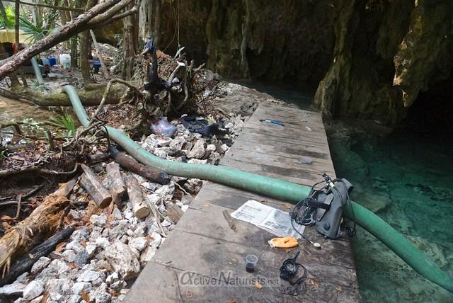 cenote0001 Pet Cemetery cenote, Quintana Roo, Mexico