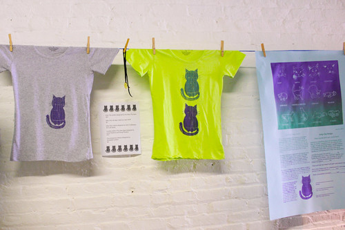 Kitty City t-shirts and posters made by the Flux Factory team. Please contact christina@fluxfactory.org if you'd like to place an order