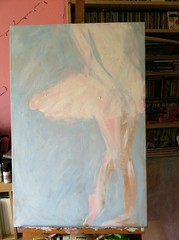 Swan in progress
