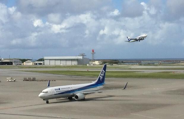 161011 那覇空港展望台からの景色