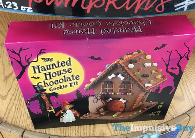 Trader Joe's Haunted House Chocolate Cookie Kit