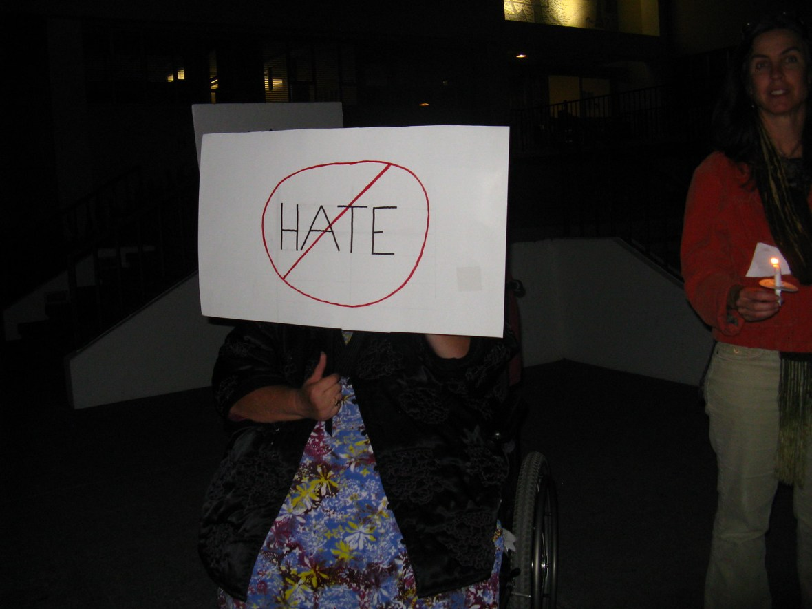 Eureka,CA Candlelight Vigil - CNV 2016 (2)