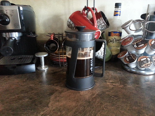 French Press by Aaron Paxson