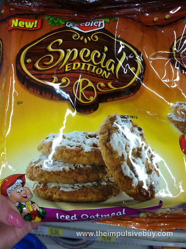 Keebler Special Edition Iced Oatmeal