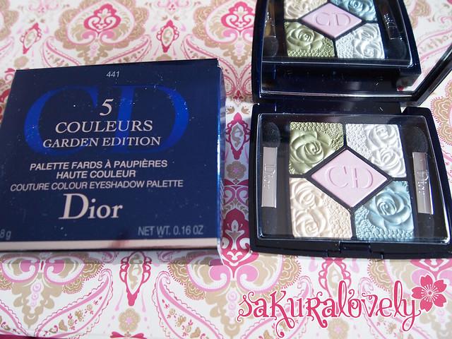 Dior 441 Garden Pastels