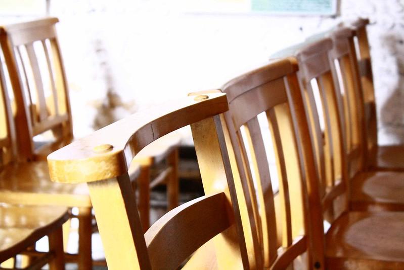 Chairs, Leper chapel