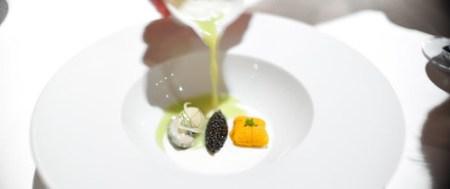 2nd Course: Oyster, Caviar, Sea Urchin