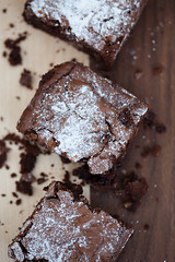 brownies with cranberries and walnuts /2
