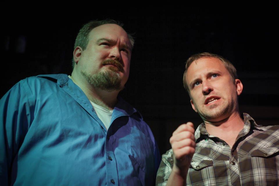 Brad McEntire and Jeff Swearingen are FUN GRIP IMPROV