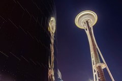 Space Needle Twins