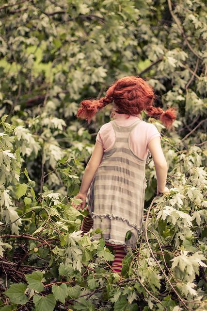 Pippi exploring