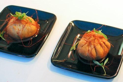 David Myers chili crab wontons