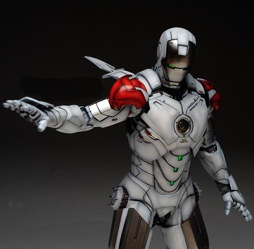 HT 1-6 Iron Man Mark IV (Hot Toys) Custom Paint Job by Zed22 (20)