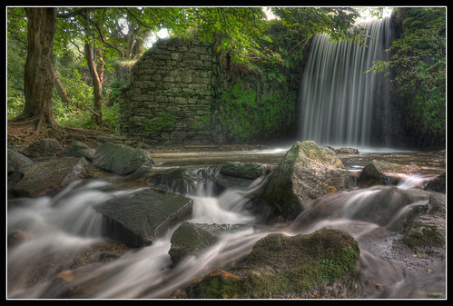 Glen Wyllin Waterfall by jonny.andrews65