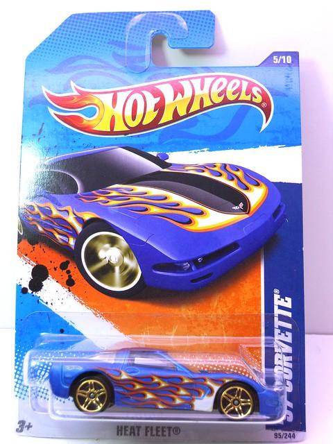 hot wheels '97 corvette blue (1)