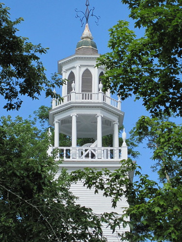 Unitarian church steeple
