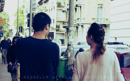 in the street by Rossella Sferlazzo