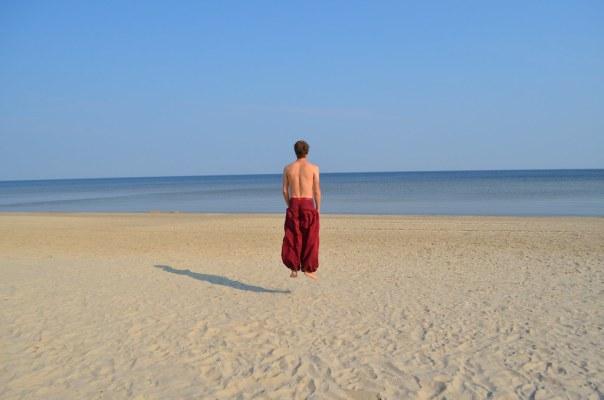 Hover beach, Latvia