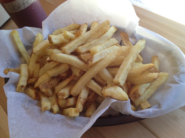 Smoked salt French fries - Pig and Pie