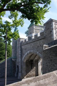 The door to Old Quebec